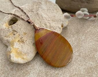 Willow Creek Jasper necklace | natural stone jewelry talisman