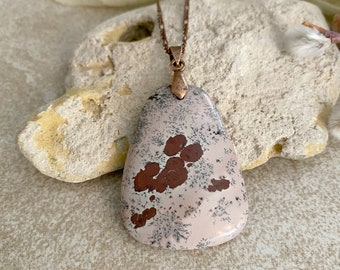 Crazy Horse Jasper necklace | natural earth stone jewelry