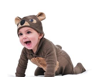 WOMBAT Baby Costume, Kids Halloween Costume, Childrens Costume, Australian Animals Baby Clothes, Photography Prop Dress Up, Baby Shower Gift