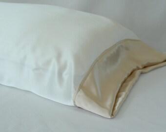 100 Pure Silk Pillowcase Deep Purple Standard Or King