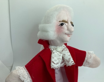 Hand Puppet for Children  and teaching  -   Mozart