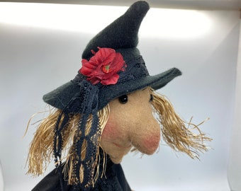 Hand Puppet for Children -   Witch