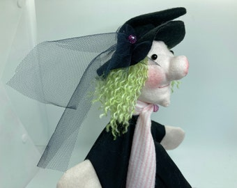 Hand Puppet for Children   -  dancing witch