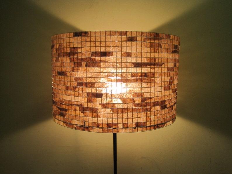 Lampshade Table Lamp Floor Lamp Lighting Drum Lamp Shade image 0