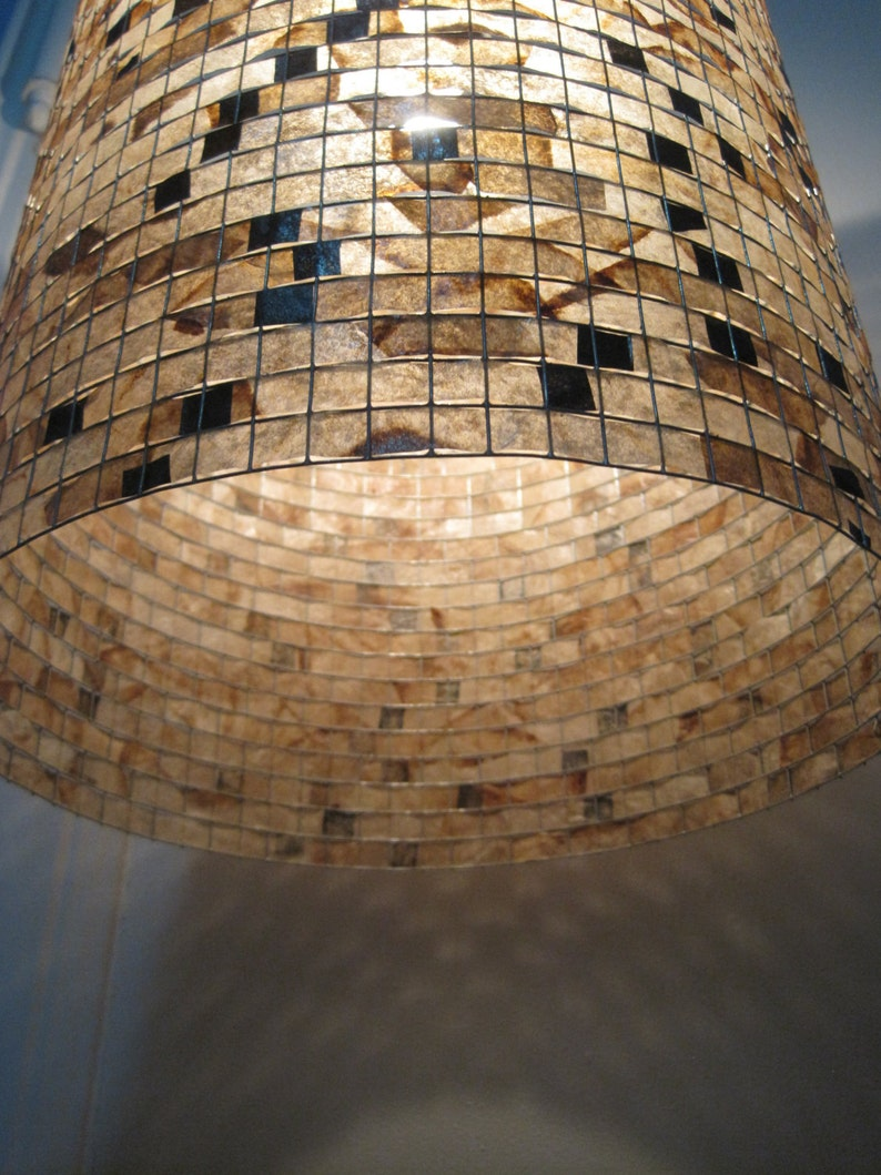 Lamps Lighting Hanging Pendant Lampshade Recycled image 0
