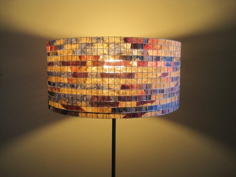 Art Coffee Filter Lampshade Table Lamp/Floor Lamp Lighting image 0