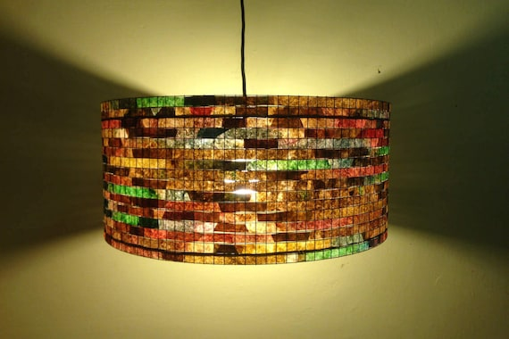 Chandelier Pendant Light Lighting Coffee Filter Lampada