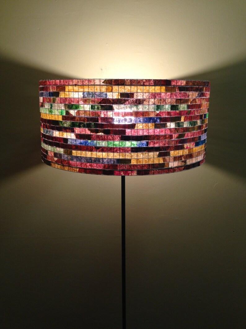 Floor Lamp Unique Colorful Lamp Lampshade Lampada Coffee image 0