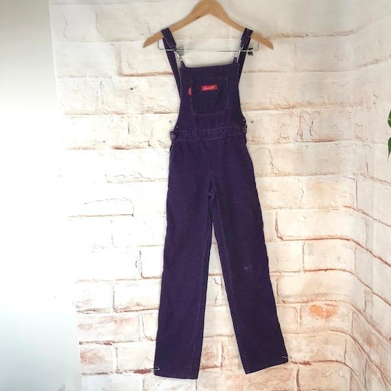 Vintage 70s 80s Girls 8 Chemin De Fer Purple Cordu