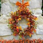 Fall Wreath - Outdoor Wreath - Door Wreath - Autumn Wreath