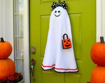 Halloween Wreath - Fall Wreath -  Six Face Options - Fall Door Decor - Quick Ship-