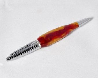 "Swarovski Crystal with Acrylic Ballpoint Pen, ball point pen, ""Sailors Delight"""