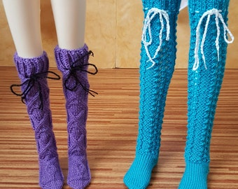 Pre-order: BJD YoSD MSD SD Knitted stockings Choose your style and color