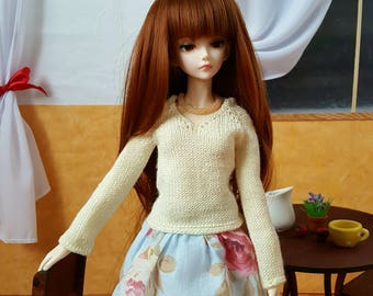 Pre-order: BJD MSD SD Knitted V-neck sweater Choose your color