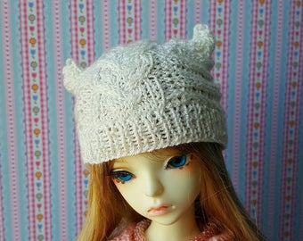 Pre-order: BJD YoSD MSD SD Hat with horns/ears Choose your color