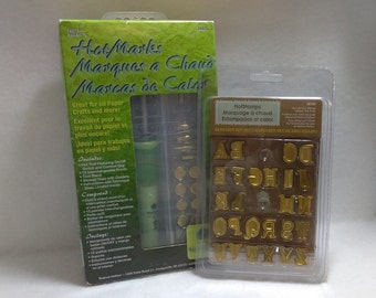 HotMarks- Hot Tool With 15 Tips and Hot Stamps Alphabet Tips