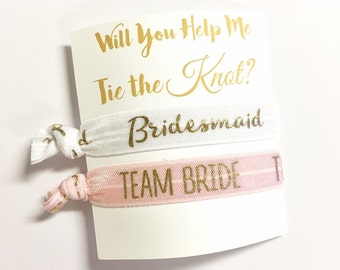 Will You Help Me Tie the Knot? - Will you be my Bridesmaid - Ask Proposal Bridesmaid Gift - Bridesmaid/Maid of Honor/Flower Girl Proposal