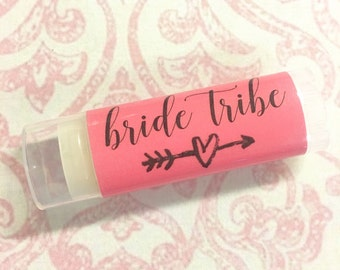 Bachelorette Party Favors, Bachelorette Party, Bachelorette Lip Balm, Bride Tribe Favors, Personalized Bachelorette Party Gift, Bride Tribe