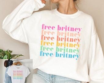 Free Britney Sweatshirt, Free Britney Shirt, #freebritney Shirt, Free Britney Movement, Trendy T-Shirts, Trending Shirts, Save Britney Tee