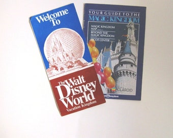 Walt Disney World Magic Kingdom, 1982 Vintage Guides