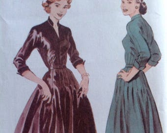 Butterick Retro #6240 1950s women's dress reissued pattern uncut and factory folded Out of Print