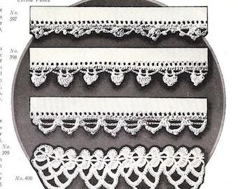 Crochet Edging PDF Pattern Vintage 1925