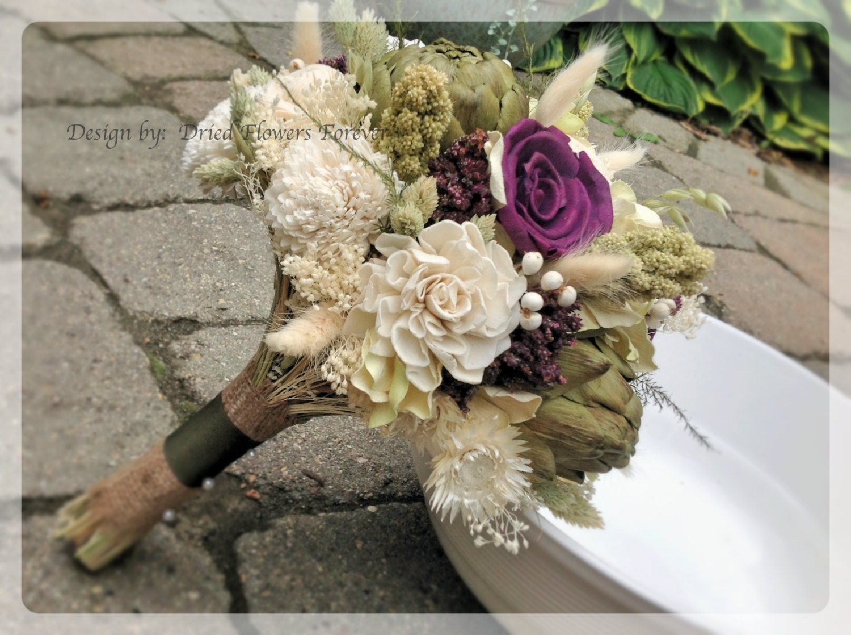 Purple woodland moss collection purple bridal bouquet etsy zoom izmirmasajfo