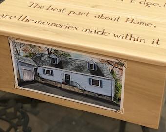 Custom Photorealistic Memory Box