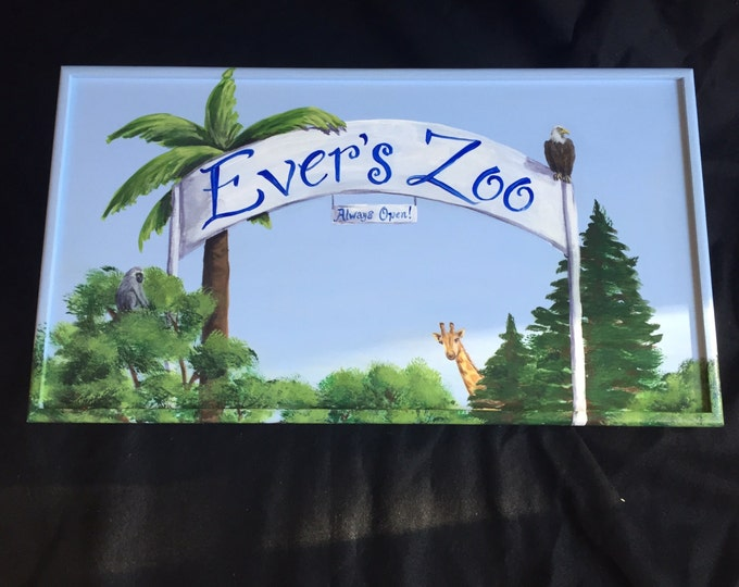 Your Very Own Zoo Large Treasure Box