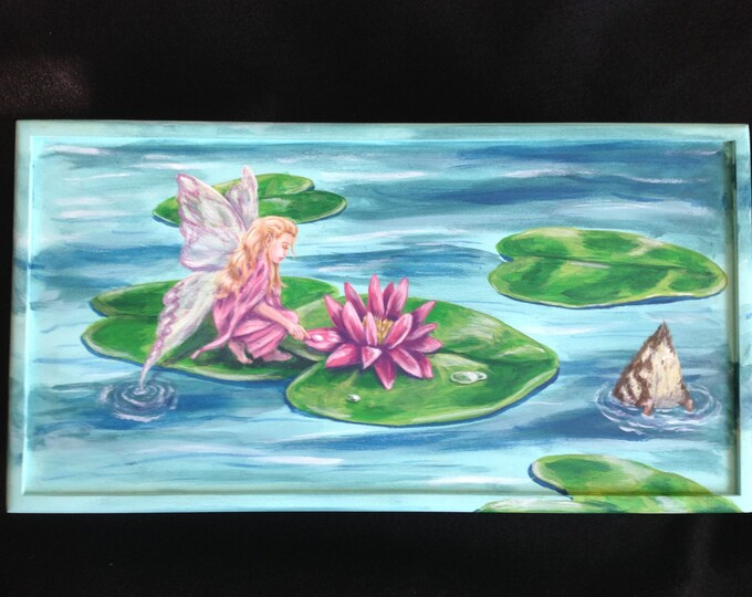 Hand painted keepsake box, memory box
