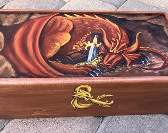 Hand Painted Custom Gamer's Box