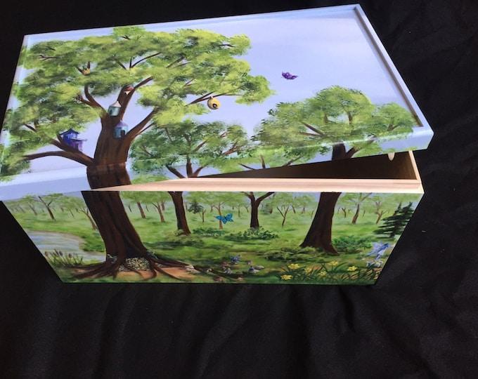 Enchanted Forest Large Treasure Box