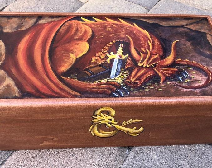 Hand Painted Custom Gamer's Box