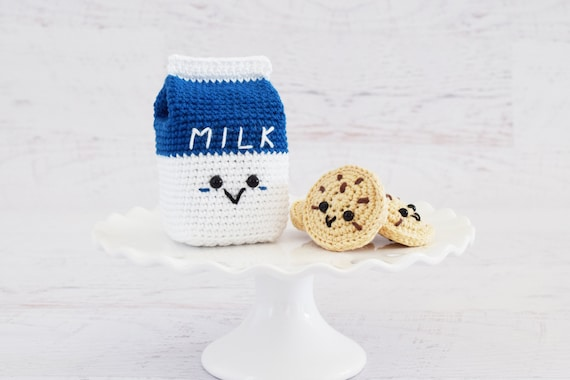 CROCHET PATTERN Milk and Cookies PDF Instant Download | Etsy