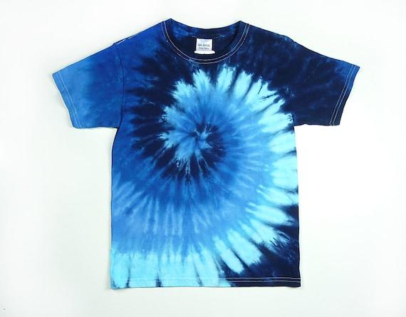 4fd96352d210b0 Blue Tie Dye Shirt   Adult Mens T Shirt Including Plus Sizes
