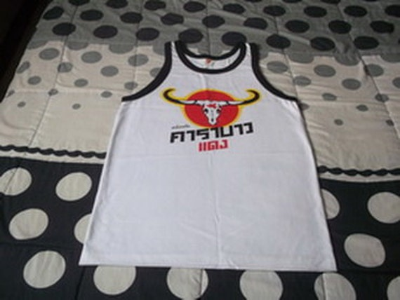 Shirts Carabao For Red Singlet T PunkEtsy Tops Tank Sleeveless New Lj43q5AR