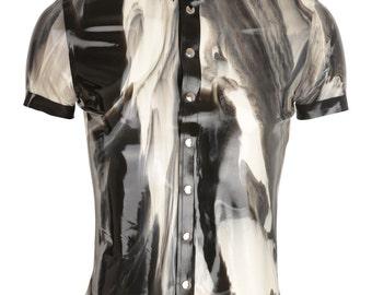 Marble Latex Men's Shirt