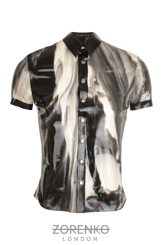 Marmor Latex Shirt