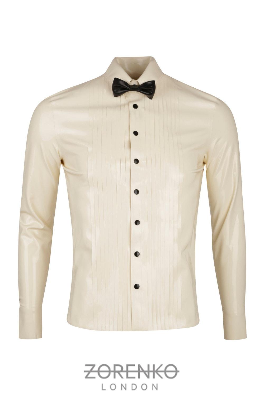 Tuxedo Latex Hemd