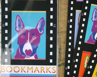 Film strip Dog Bookmarks - Pack of Four Dogs on Film