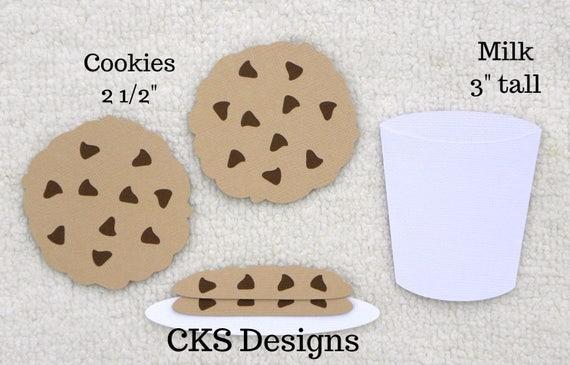 Christmas Baking Title Paper Piecing Scrapbook border Piece Premade Cookies