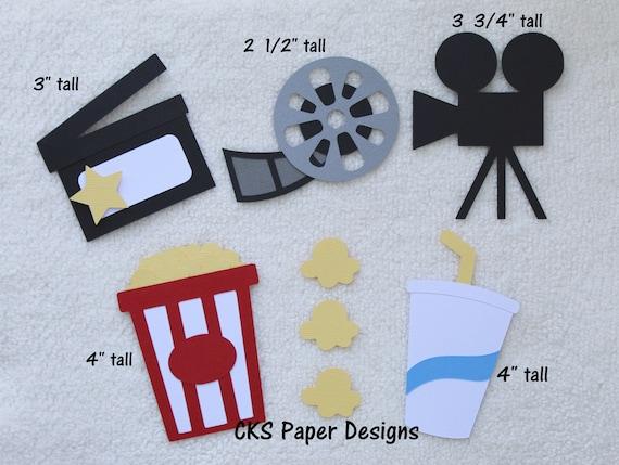 Scrapbook /& Card Making 4 Piece Treats Premade PAPER Die Cuts