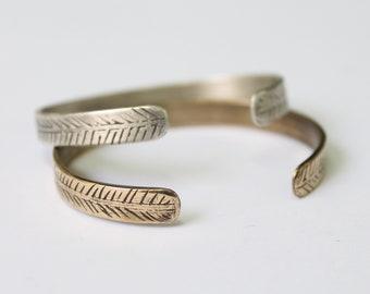Areca cuff bracelet
