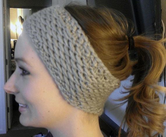Honey Headband Ear Warmer Knitting Pattern Etsy