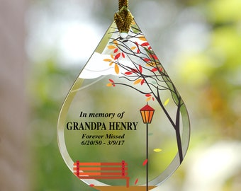 Memorial ornaments | Etsy