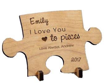 Puzzle Piece Confetti Puzzle Decorations Jigsaw Puzzle Pieces
