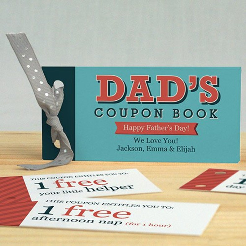 dad coupon book cover
