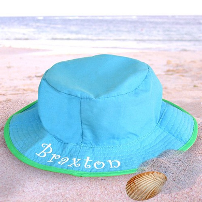 3f786d09d4339 Personalized Infant Hat personalized baby hat baby sun hat