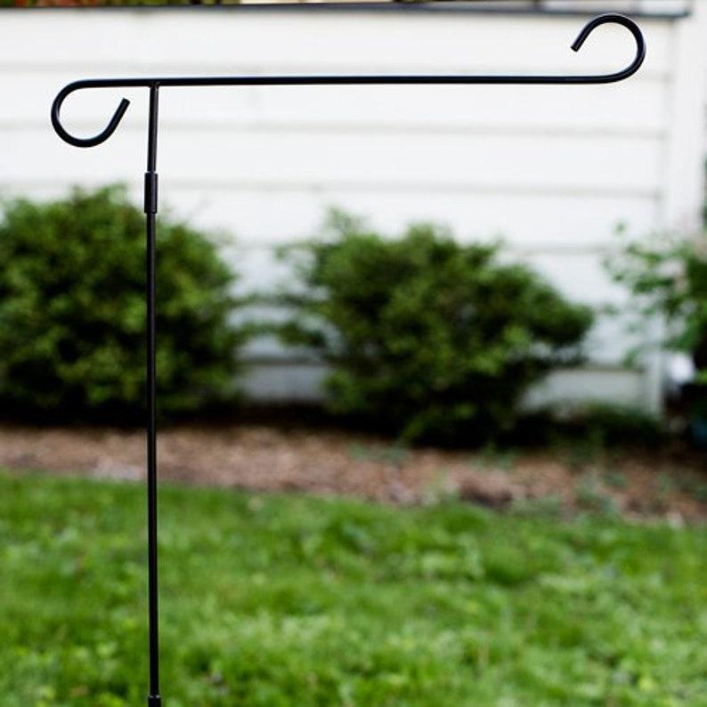 Garden Flag Pole Yard Decor Flag Pole Standard Flag Pole | Etsy