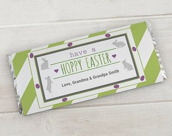 Personalized Easter Candy Wrappers - Set of 12 -gfy11002115A